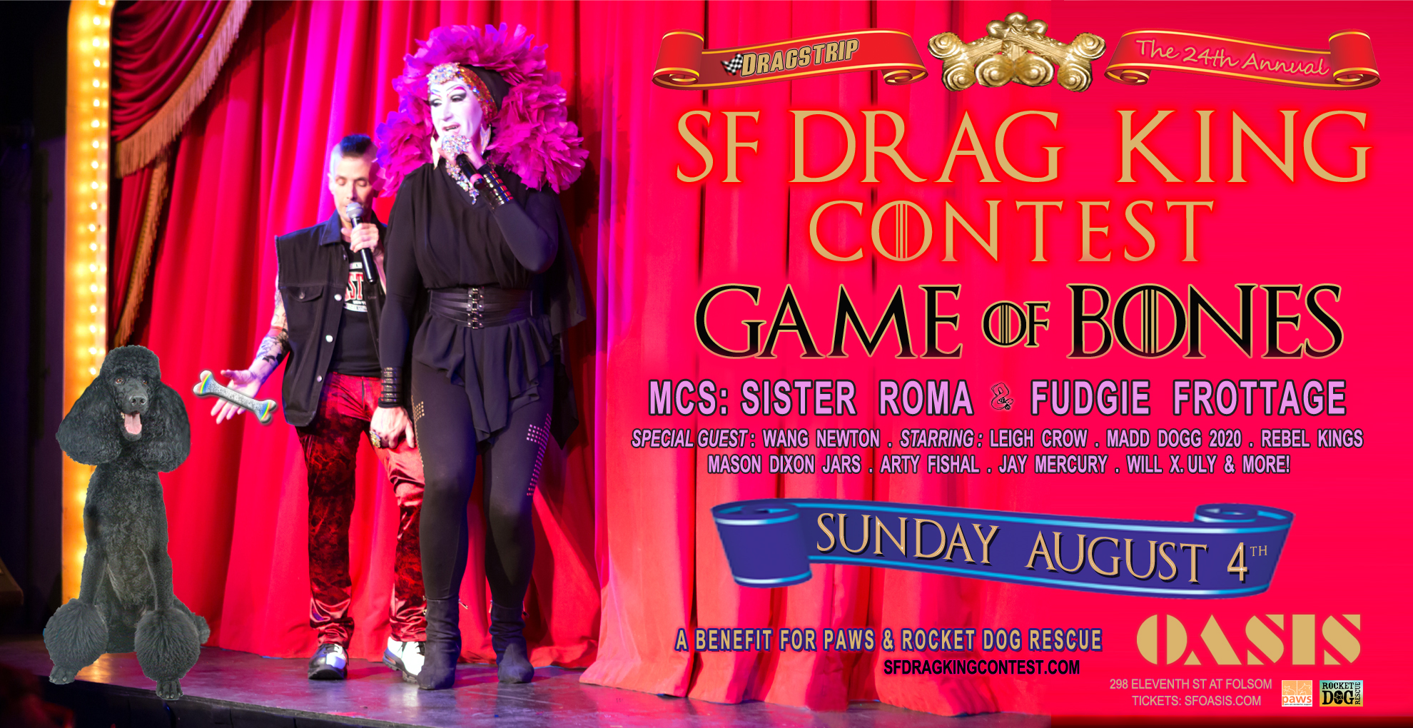 23nd San Francisco Drag King Contest, 2019