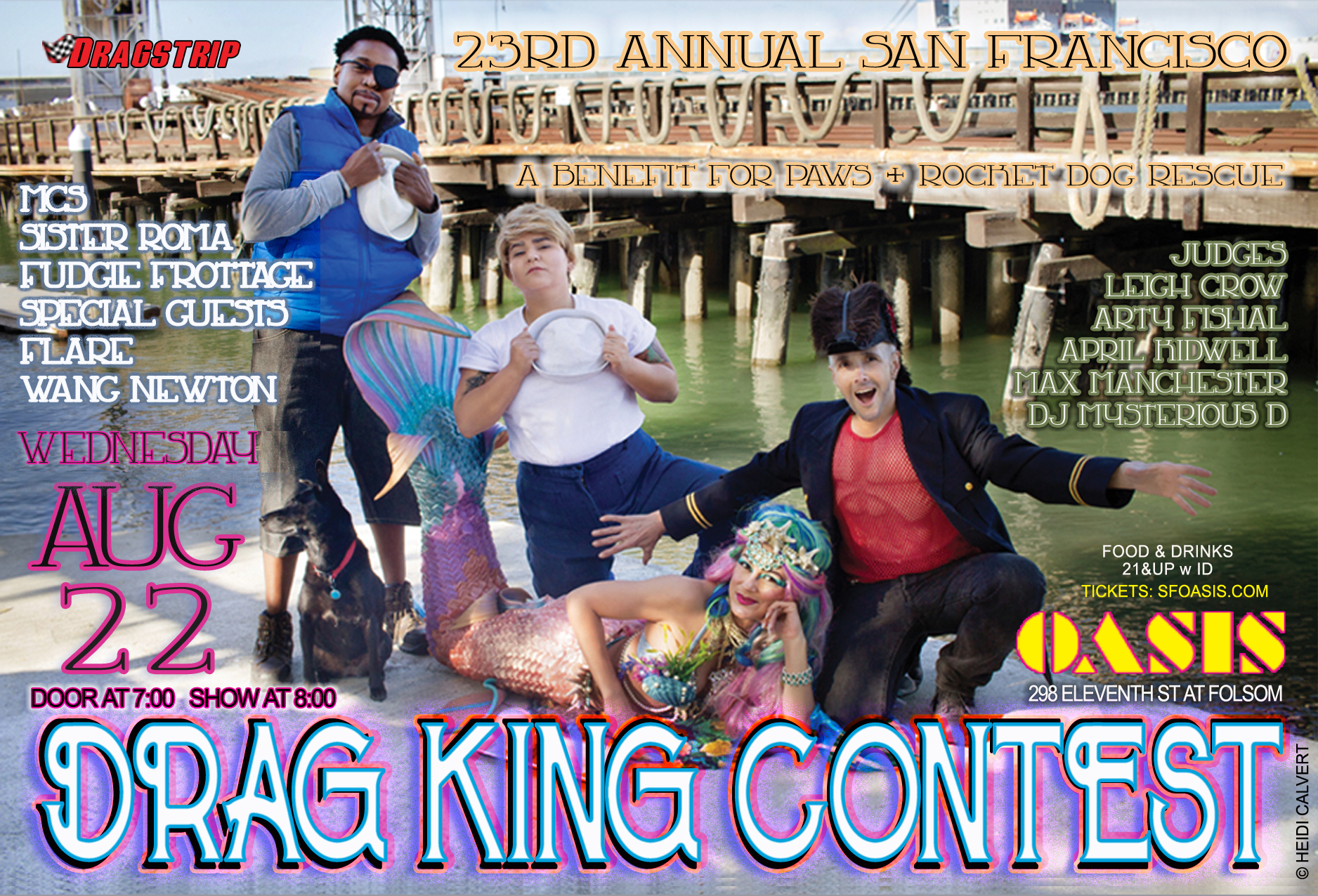 23nd San Francisco Drag King Contest, 2018