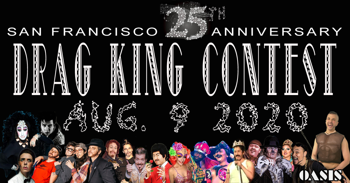 24th San Francisco Drag King Contest, 2019